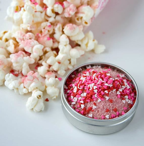 Dell Cove Spices 'Valentine's Kettle Corn seasoning'. Photo Credit: Selena Vallejo Photography