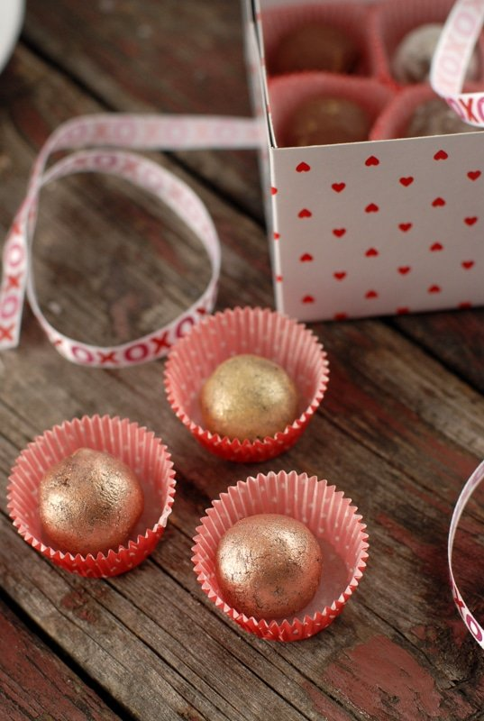 Bacon-Chipotle-Espresso Truffles & Valentine's Food Artisan #Giveaway...