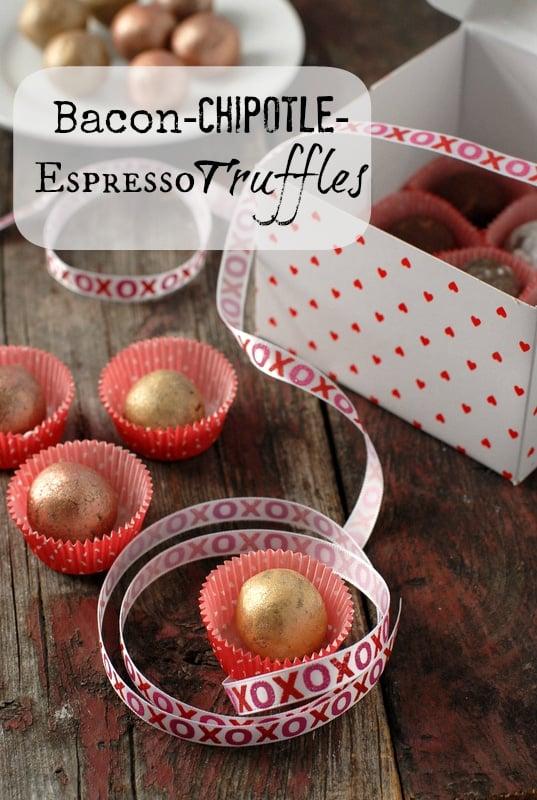 Bacon-Chipotle-Espresso Truffles