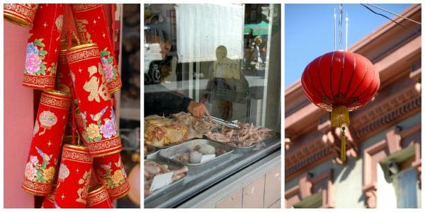 Chinatown is an unending adventure of sights, smells and flavors.  Some must do's:  visit The Wok Shop, check out Goody Two Shoes slippers (exotic and beautiful handmade floral slippers in many shops) and try a Pao (sweet pork filled steamed bun).