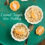 Creamy Coconut Tangelo Rice Pudding