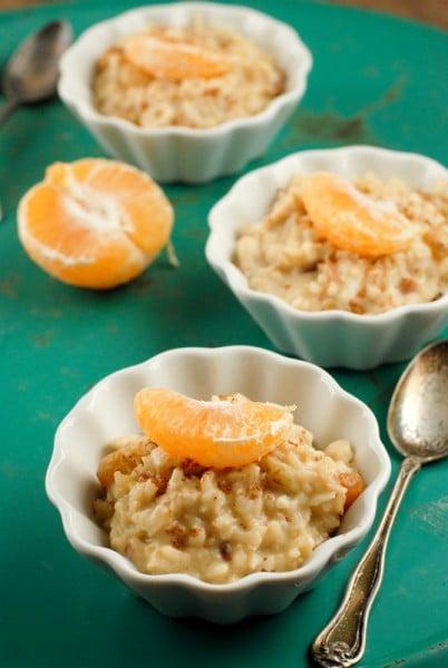 Coconut Tangelo Rice Pudding | BoulderLocavore.com #dairyfree #glutenfree
