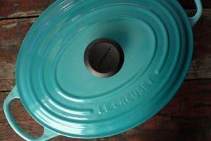 Le Creuset 5 qt French Oven Caribbean Blue | BoulderLocavore.com
