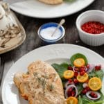 Pink Peppercorn Sherry Cream Chicken