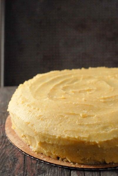Sour Cream Butter Cake Buttercream Frosting BoulderLocavore.com