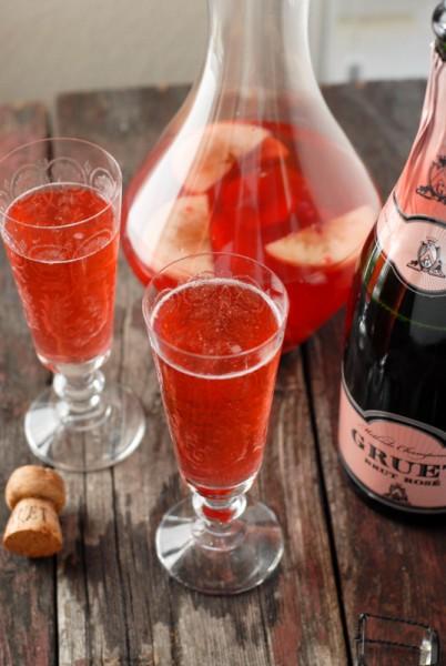 Sparkling Pink Sangria BoulderLocavore.com