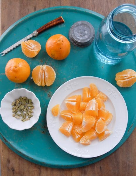 Make your own Tangelo Cardamom infused vodka BoulderLocavore.com