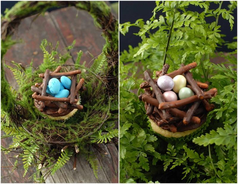 Chocolate Bird's Nest Cupcakes | BoulderLocavore.com