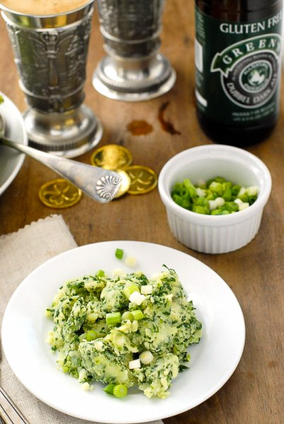 Authentic Irish Colcannon Recipe and gluten-free beer - BoulderLocavore.com