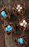Chocolate Bird's Nest cupcakes |BoulderLocavore.com