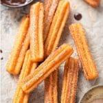 Cinnamon-Sugar Churros Recipe (Gluten-Free + Regular options)