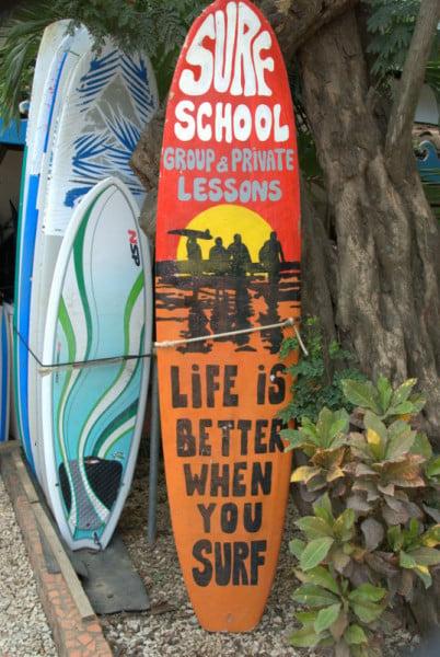 Surf Board Surf Lessons Tamarindo Costa Rico | BoulderLocavore.com