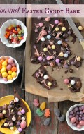 Gourmet Chocolate Easter Candy Bark | recipe on BoulderLocavore.com