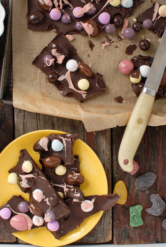 Gourmet Easter Candy Bark