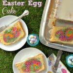 Hidden Rainbow Easter Egg Cake