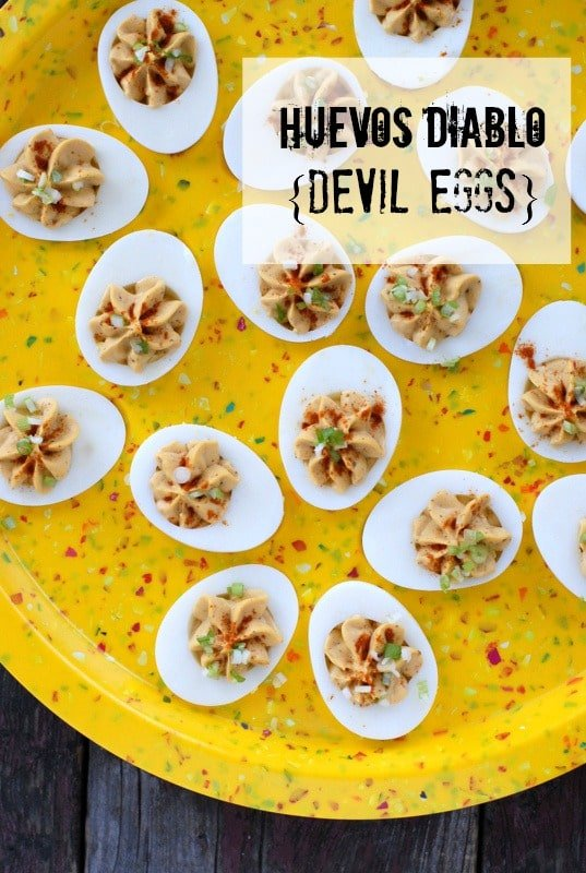 Huevos Diablo {Devil Eggs} BoulderLocavore.com