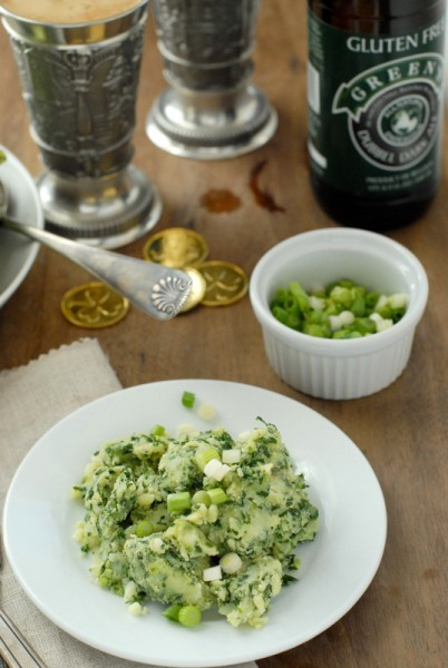 Irish Colcannon and gluten free beer | BoulderLocavore.com
