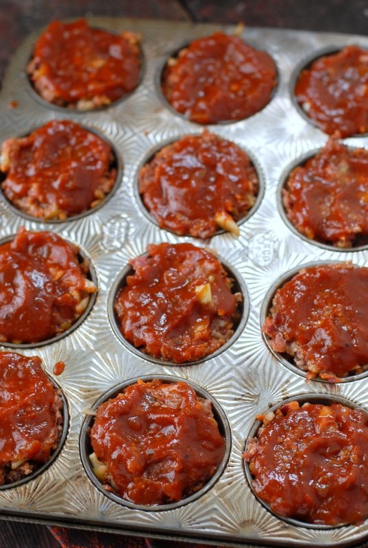 Turkey Meatloaf Muffins Muffin Tin Meatloaf And