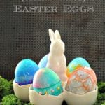 Stained Glass {Bleeding Tissue} Easter Eggs
