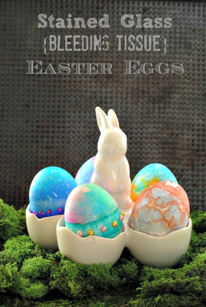 Stained Glass Bleeding Tissue Easter Eggs | BoulderLocavore.com