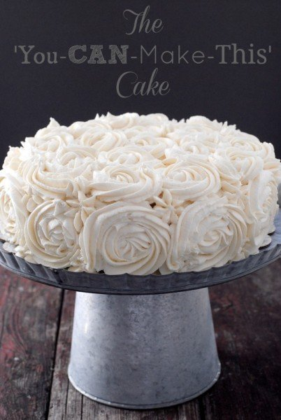 You-CAN-Make-This Flower Cake | BoulderLocavore.com