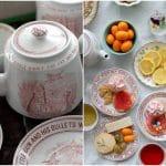Edible Flower Springtime Tea Party