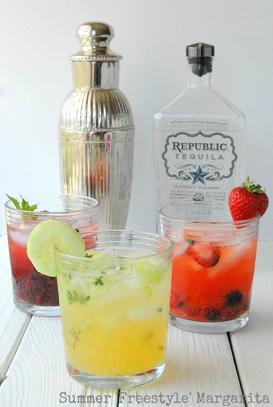 Summer Freestyle Margaritas