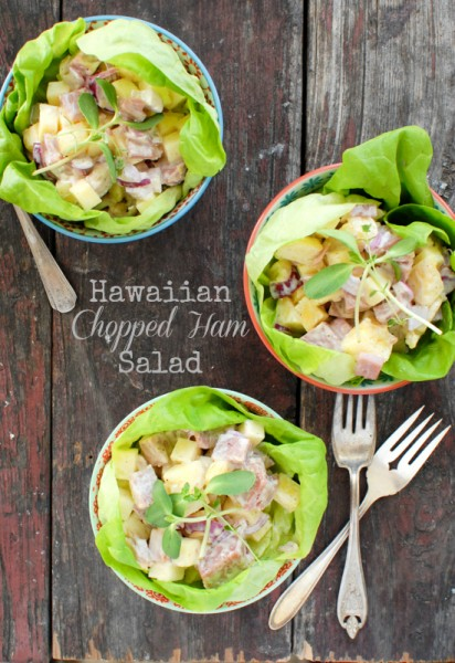 Hawaiian Chopped Ham Salad  | BoulderLocavore.com