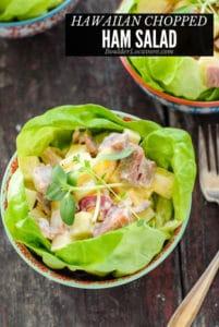 Hawaiian Chopped Ham Salad title image