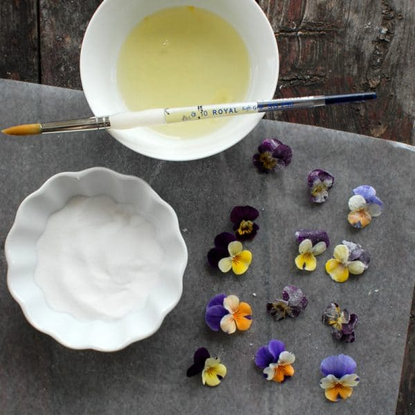 How to Sugar Flower (violas) | BoulderLocavore.com