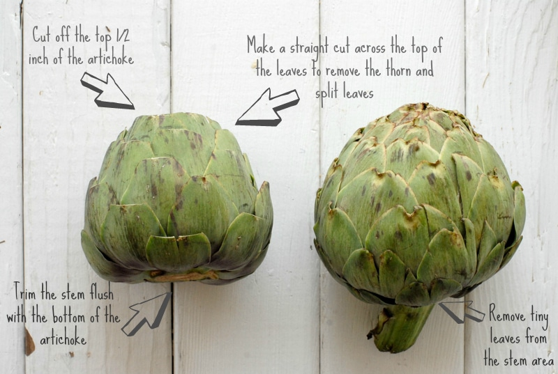 How to Trim an Artichoke {pictorial} | BoulderLocavore.com