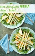 White Aspargus Arugula Spring Salad | BoulderLocavore