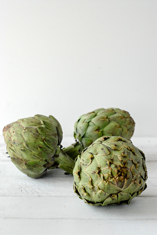 whole artichokes