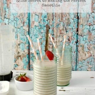 Banana-Peach Almond Smoothie & the Secret to Making a Perfect Smoothie | BoulderLocavore.com