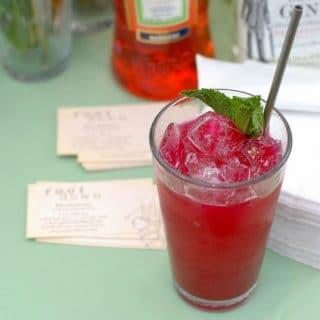 Beet Down Cocktail | BoulderLocavore.com