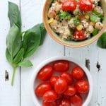 {Quick and Light} Rainbow Quinoa Summer Salad