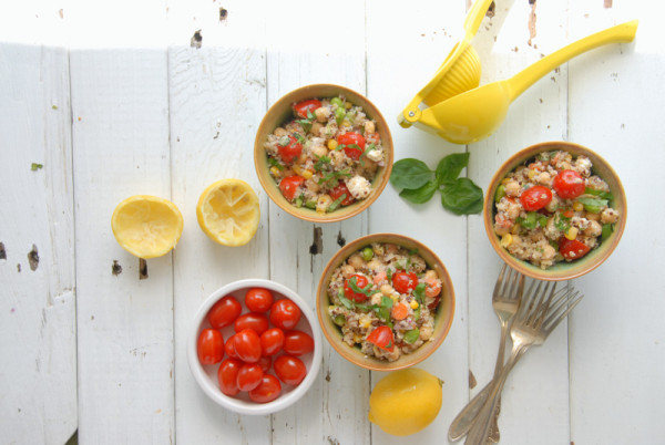 Rainbow Quinoa Summer Salad - BoulderLocavore.com