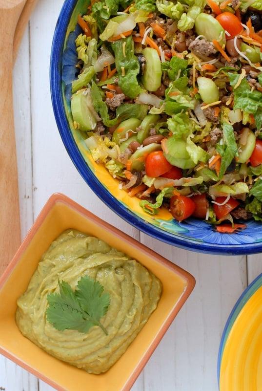 Salad Ole |  BoulderLocavore.com  #glutenfree