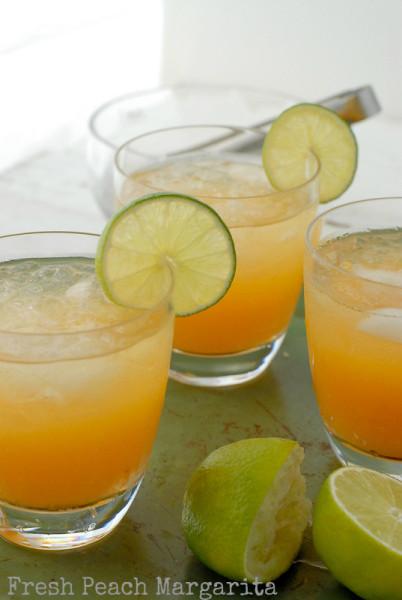 Fresh Peach Margaritas | BoulderLocavore.com