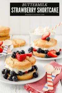 Buttermilk Strawberry Shortcake title