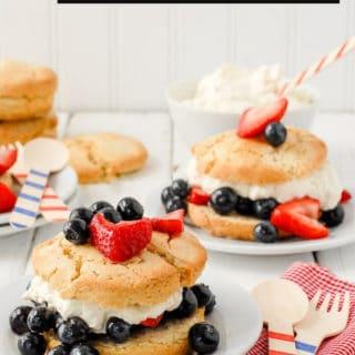 Buttermilk Strawberry Shortcake title