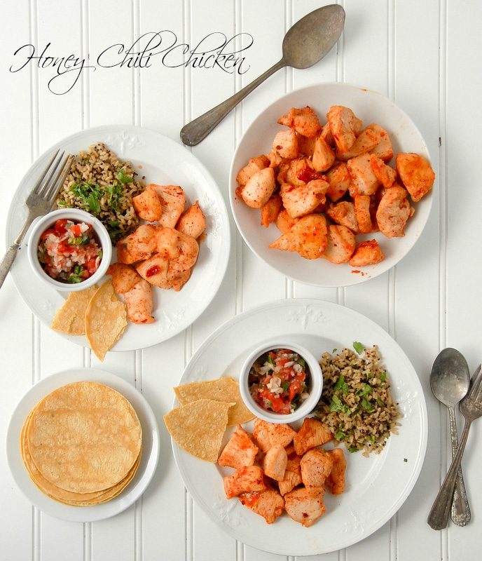 Honey Chili Chicken and 'Honey Crafting' Giveaway