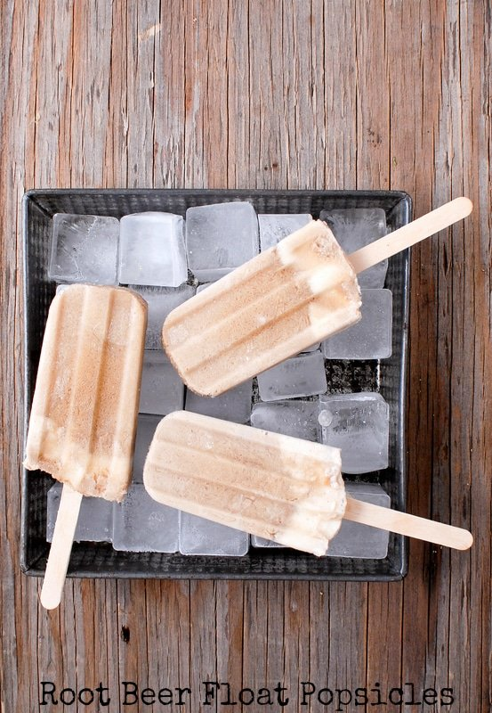 Root Beer Float Popsicles | BoulderLocavore.com