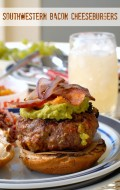 Southwestern Bacon Cheeseburgers