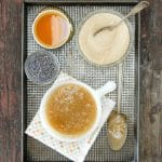Sugar Facial Scrub with Honey from 'Honey Crafting'