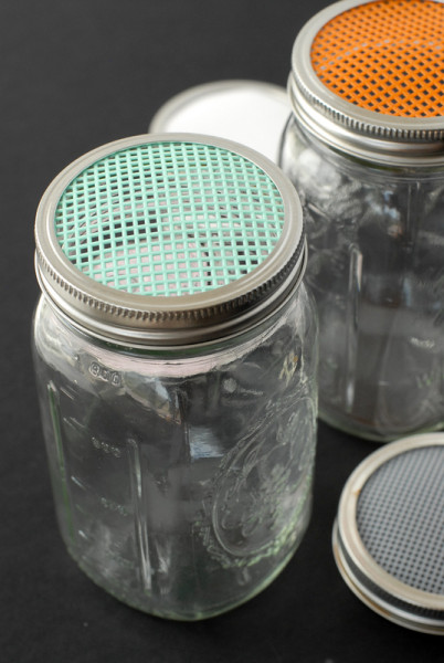 {Tutorial} Homemade Sprouting Jars - BoulderLocavore.com