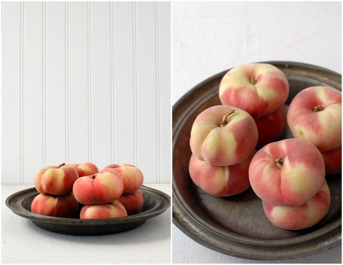 Donut or Saturn Peaches | BoulderLocavore.com