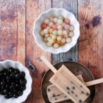 Chai-Coconut Milk Boba {Bubble Tea} Popsicles