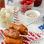 Mini Jalapeno Corn Dogs and Corn Dog Bites {gluten-free or regular}