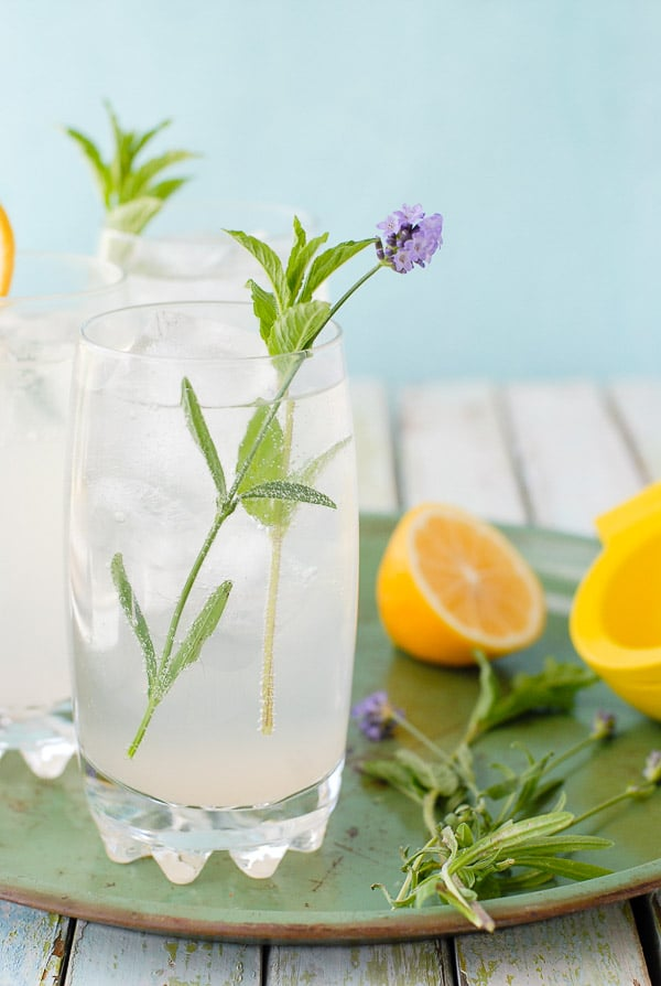 Meyer Lemon Lavender Mojitos - BoulderLocavore.com